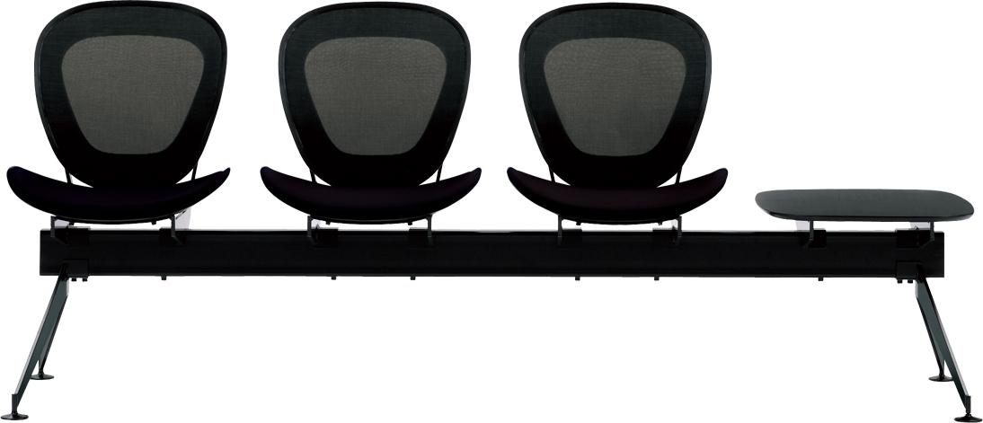 ワフト Waft 二人掛け 二人がけ 2人掛け 2人がけ 2人掛け 2人がけ ベンチ 浮遊感 軽やかな 柔らかな BB4 待合室向き ロビー 業務用家具
