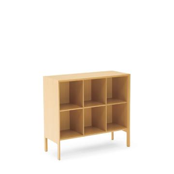 ビューロー Bureau  キャビネット 木製オフィス家具 シンプル しっかり KA4