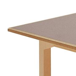 ビューロー Bureau  テーブル 木製オフィス家具 シンプル しっかり TA4