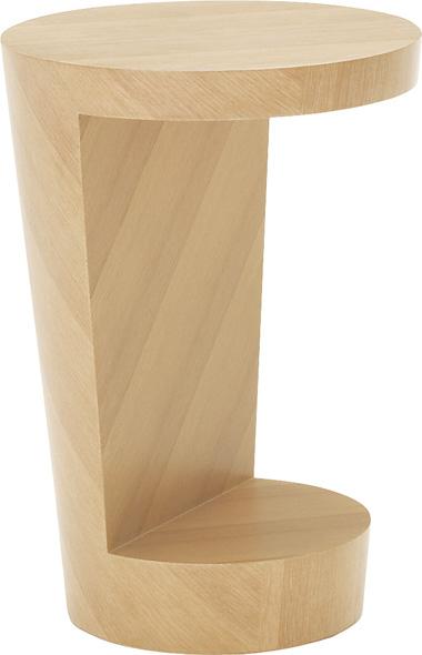 ビューロー Bureau 丸 サイドテーブル 木製オフィス家具 シンプル しっかり TA4