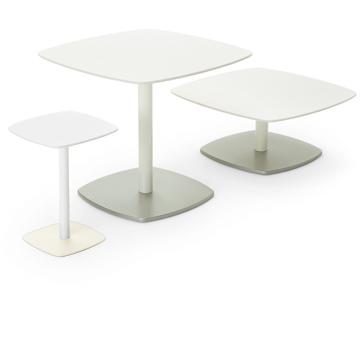 スーズ Soothe  サイドテーブル 柔らかさ ふかふか ゆったり 白 飲食 白い スクエア 四角い 四角 TA6