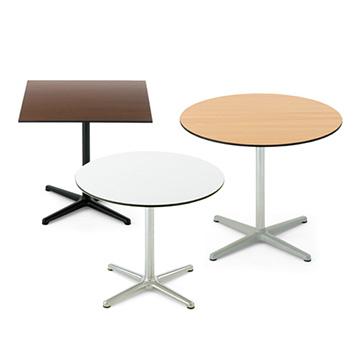 トスト Tosto 屋外 丸 テーブル 耐久性 耐候性 黒 白 茶 アウトドア TJ 四角