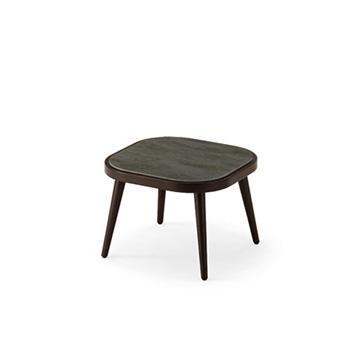 アジオ Agio  サイドテーブル アームなし クッション付き 丸い形状 かわいい TK1 01