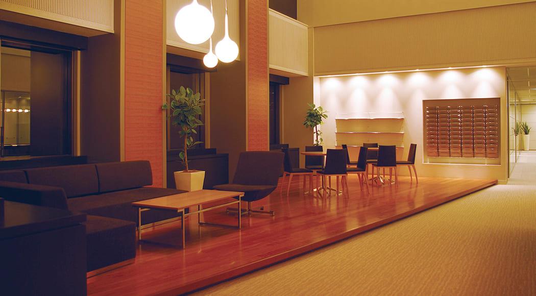 Lune Intersect900 ソファ チェア 回転式 アームあり ラウンジ オフィス 業務用家具