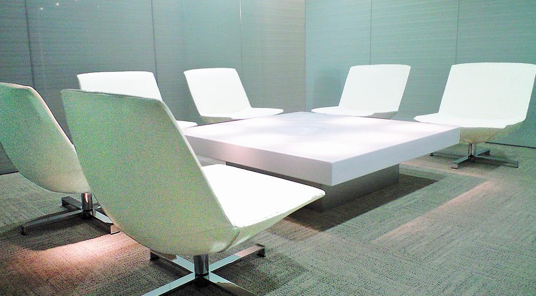 Lune チェア 回転式 オフィス 会議室 業務用家具