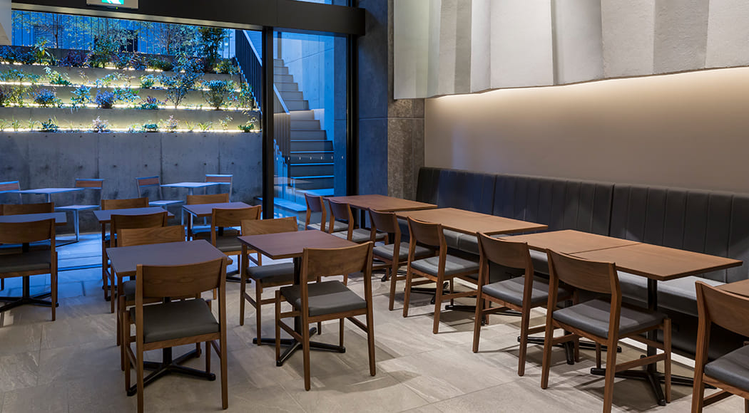 Arete チェア アームあり レストラン 業務用家具