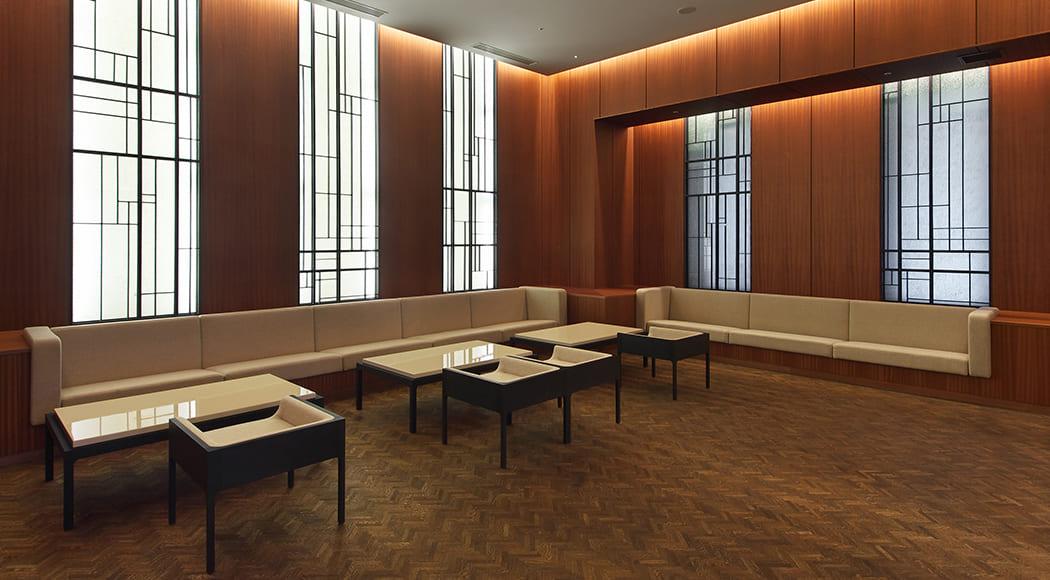 Contrast ローテーブル チェア エントランスラウンジ マンション 業務用家具