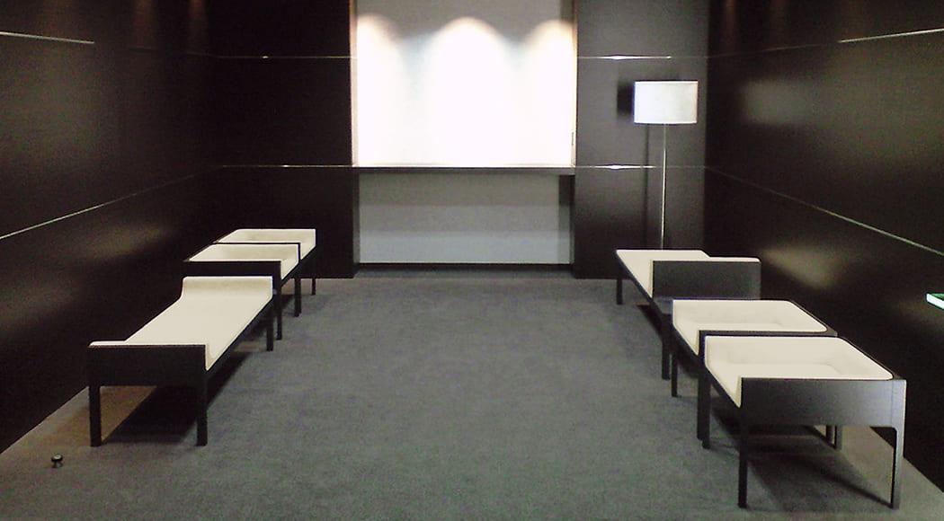 Contrast ベンチ チェア 二人掛け エントランス オフィス 業務用家具