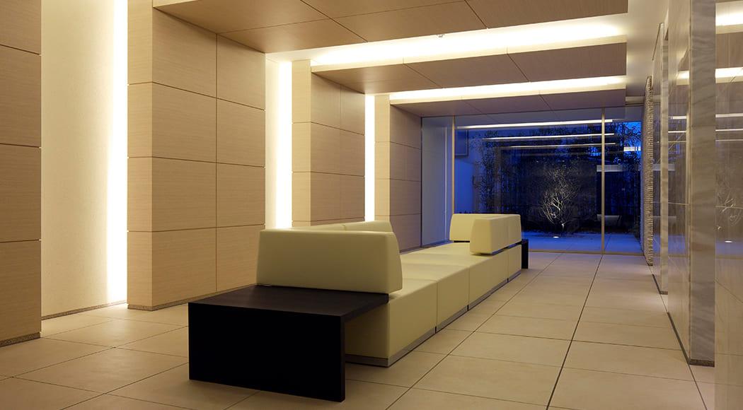 Intersect 900 ソファ アームあり ロビー マンション エントランス 業務用家具