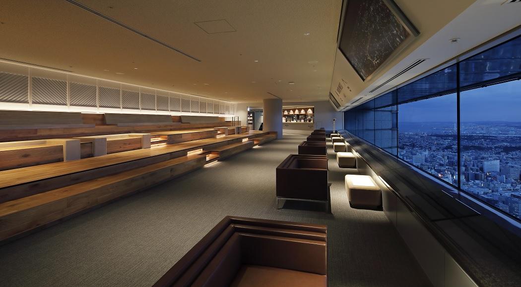 Layer ソファ 商業施設ラウンジ 二人掛け アームあり 業務用家具