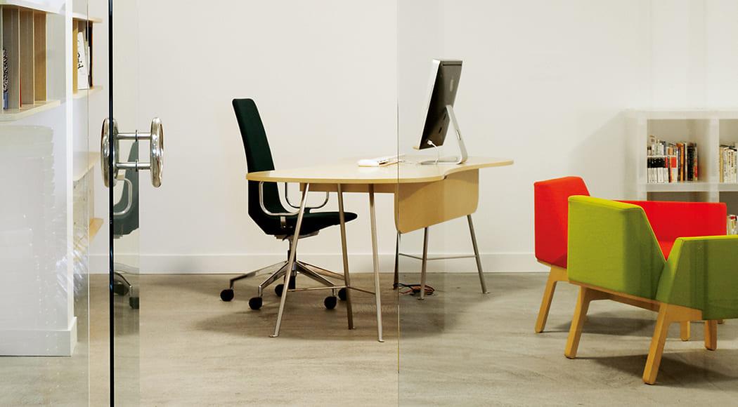 Bureau ソファ アームあり ギャラリー 施設 業務用家具