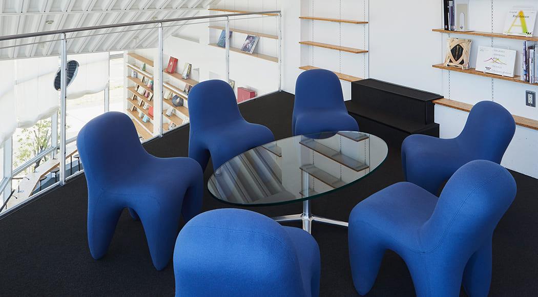 Sofu チェア 図書館 施設 共有スペース 業務用家具