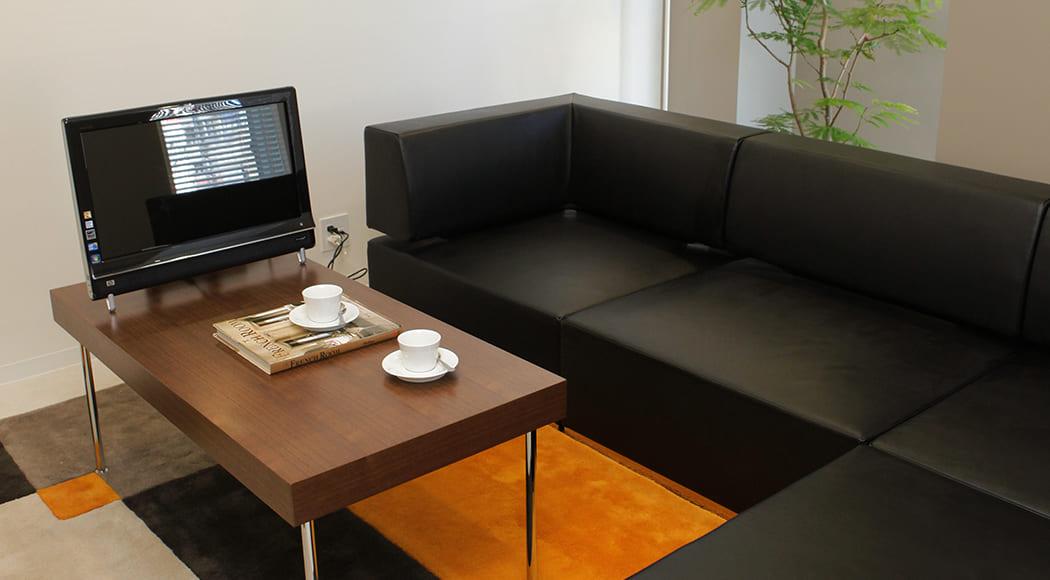 Levi Intersect ソファ ローテーブル 二人掛け アームあり 会議室 業務用家具