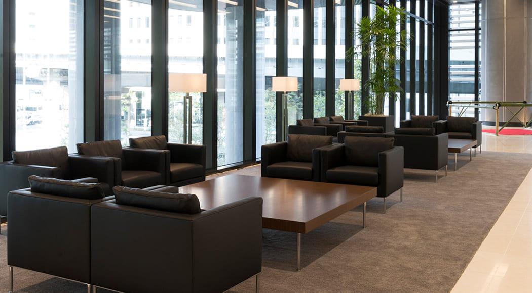 Levi ソファ ローテーブル アームあり ラウンジ 待合スペース ロビー エントランス オフィス 業務用家具